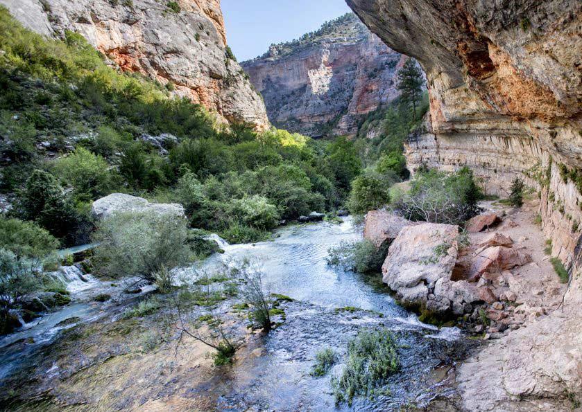 Ejulve rio pitarque